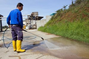 Health and Safety with High Pressure Washing Services in Houston